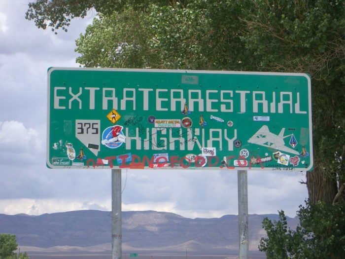 11. Extraterrestrial Highway – Nevada State Highway 375