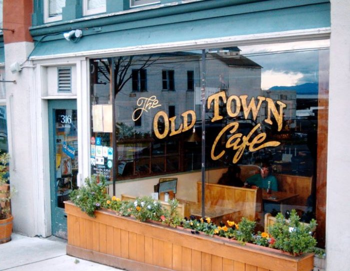 4. The Old Town Cafe, Bellingham