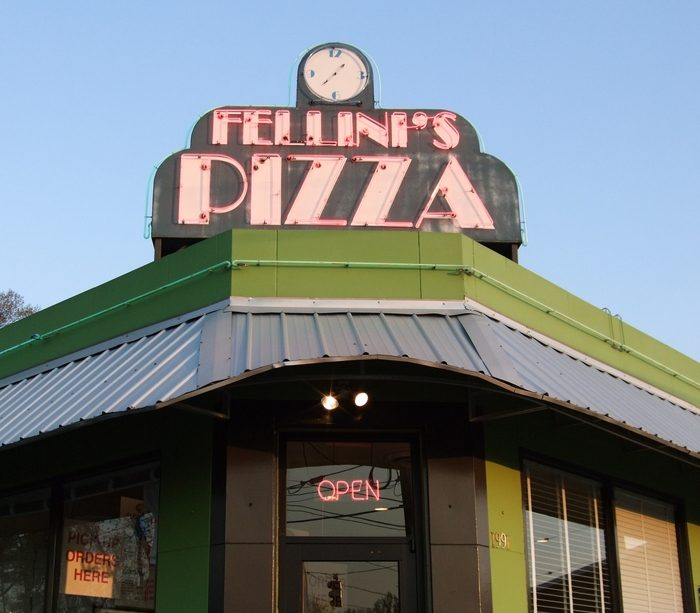 4. Fellini's Pizza—1991 Howell Mill Road Northwest Atlanta, GA 30318
