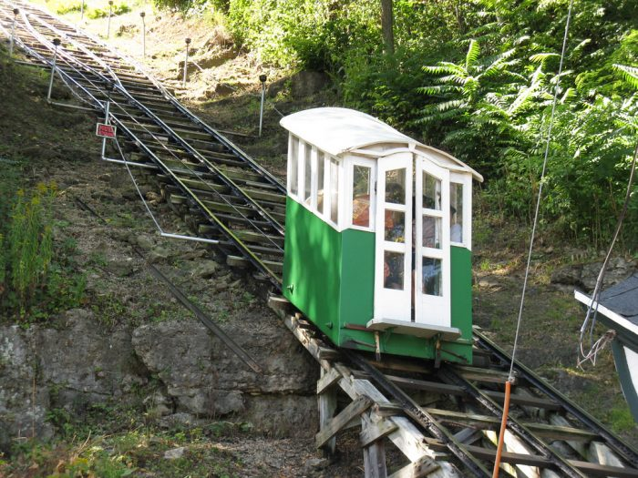 12. Take a ride on the world's shortest, steepest railway.