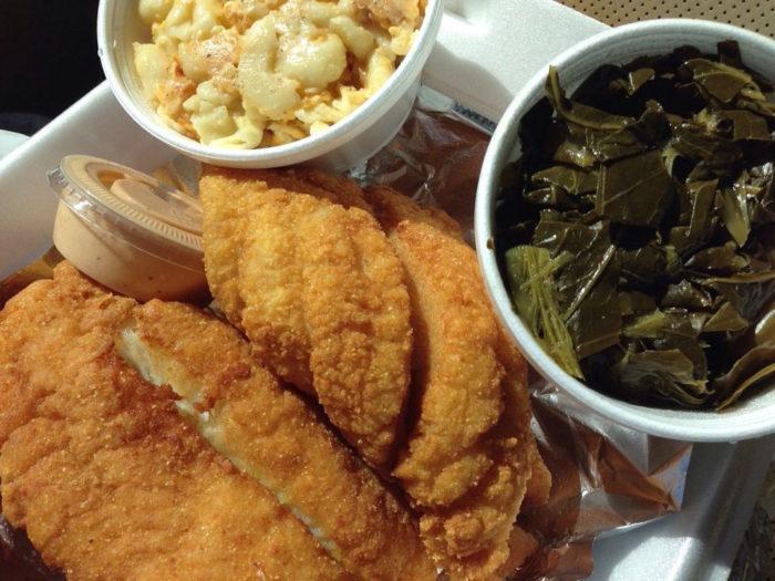 fish in the hood food