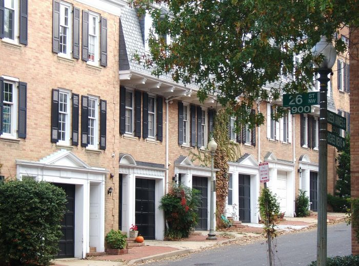9. If you're looking for a central area: Foggy Bottom