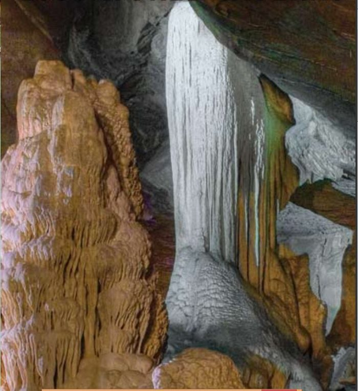 The tour of the cave is self-guided, so you can take your time to explore and take pictures.