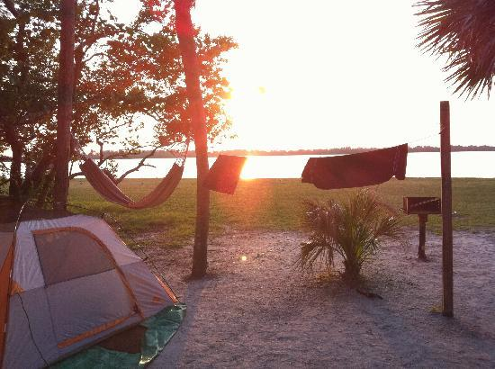 Image result for fort de soto state park camping