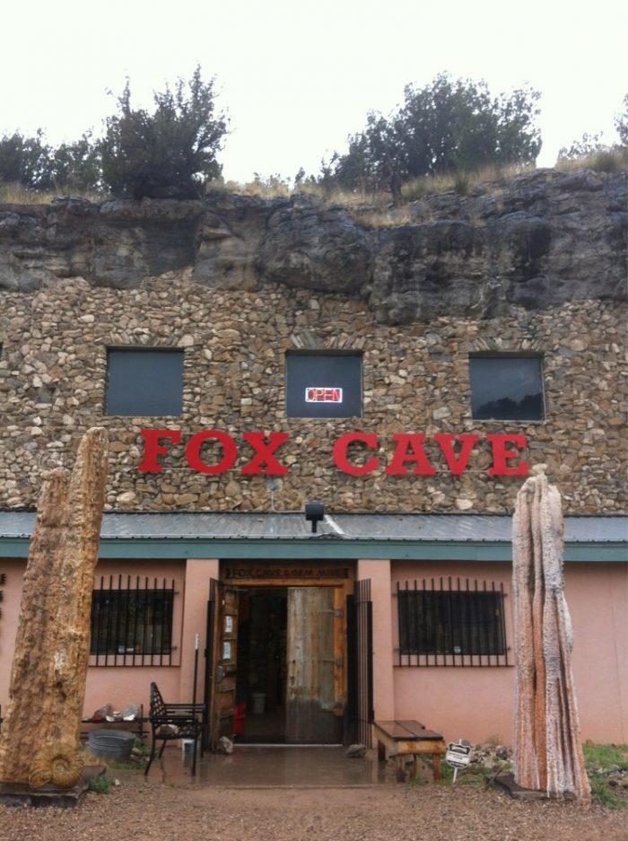 9. Fox Cave In Glencoe