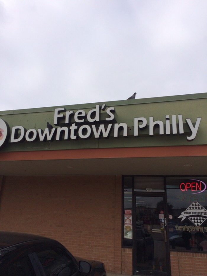 6. The Liberty Bell at Fred's Downtown Philly (Carrollton)