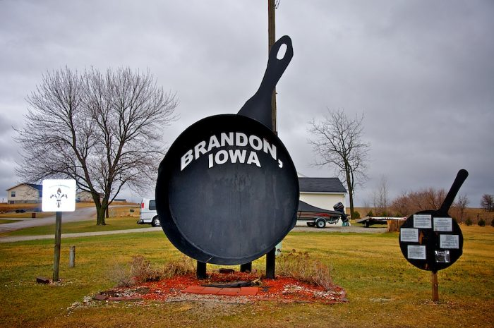 11. World's Largest Frying Pan, Brandon