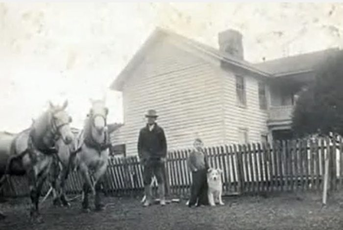 It was a farming community that many families called home.