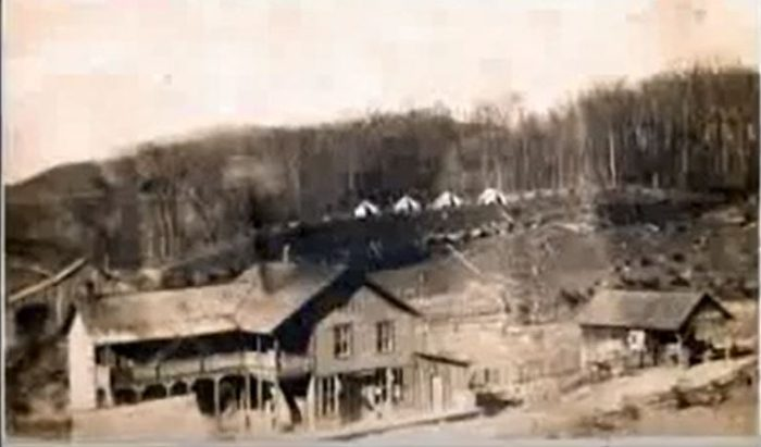 From the 1800s to 1960, the village of Gad existed where Summersville Lake is now.
