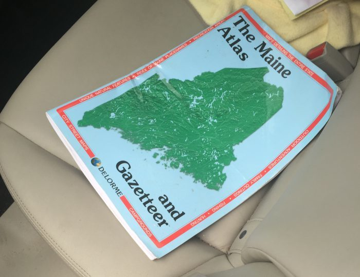 7. You bring this along, even for a road trip outside the state.