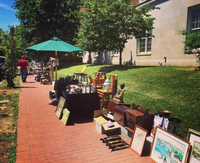 1. Georgetown Flea Market