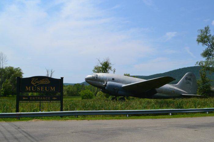 Another main feature of the town that draws in visitors? The Glenn H. Curtiss Museum!