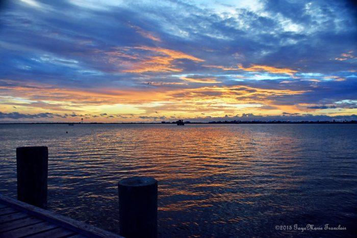 Finally you can end your trip at Grand Isle, a popular Louisiana beach destination.