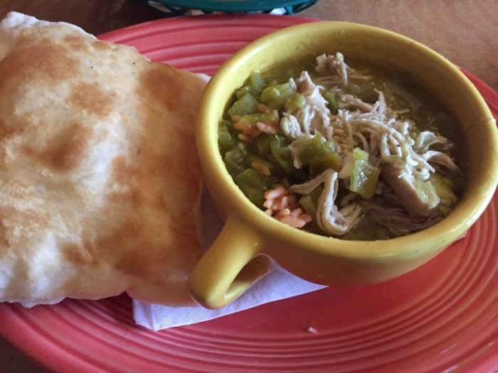5. Give green chile stew to someone who is sick...