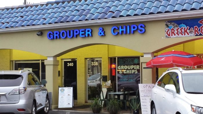 4. Gulf Coast Grouper & Chips, Naples