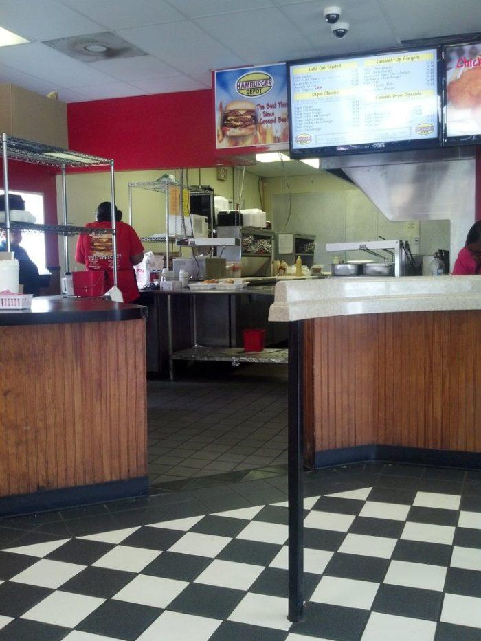 6. Mushroom Swiss Burger at Hamburger Depot (Beaumont)