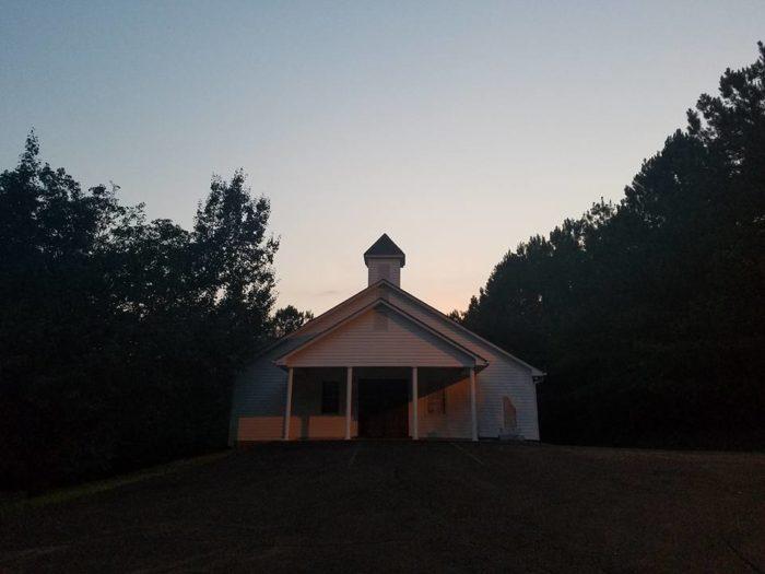 8. Hell's Church, Canton, Georgia
