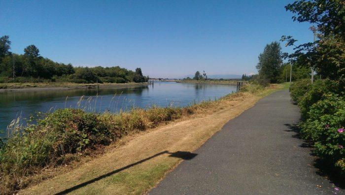 2.  Langus Waterfront Trail, Smith Island