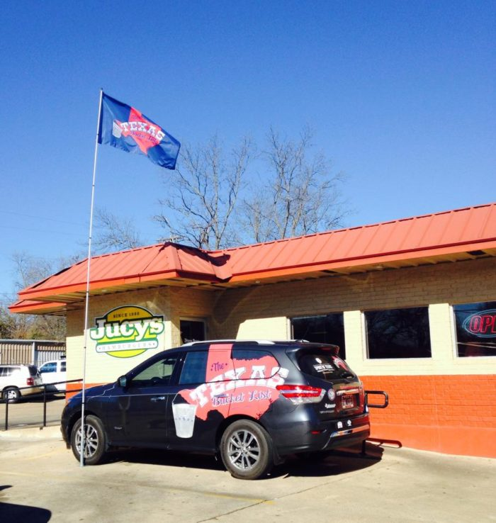 2. Cheeseburger at Jucys Hamburgers (Longview, Marshall, and Tyler)