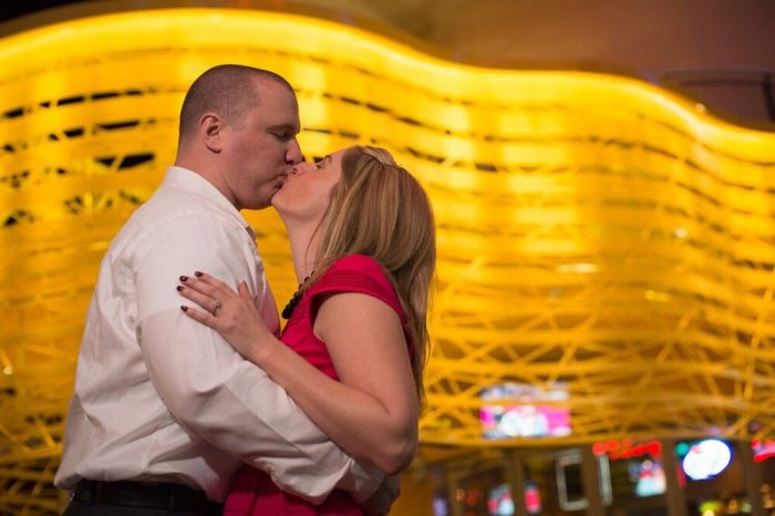 ... at the Denny's chapel in downtown Las Vegas, your wedding is served with a side of true love.