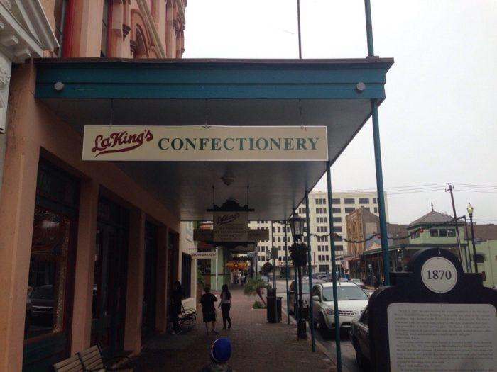 8. La King's Confectionery (Galveston)