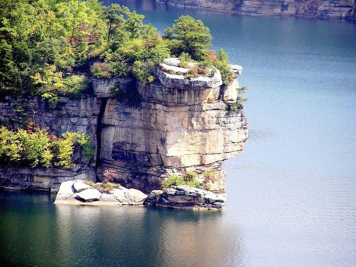 Summersville Lake is a man-made reservoir.