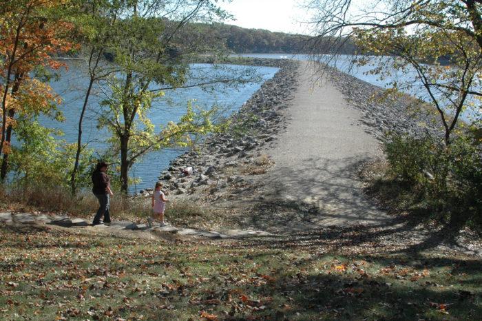 5. Beach to Dam Trail, Lake MacBride State Park