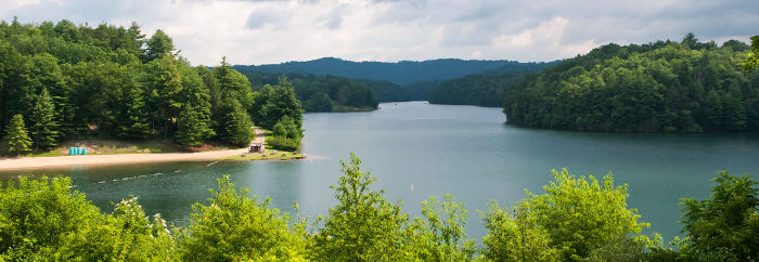 1. Lake Stephens, Beckley