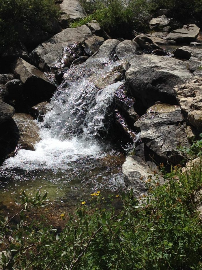 Lamoille waterfall
