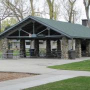 The Rice Terrace Pavilion is perfect for hosting family reunions and parties.