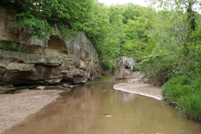 8. Ledges State Park trails