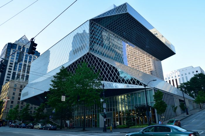 1. Visit the Seattle Library.