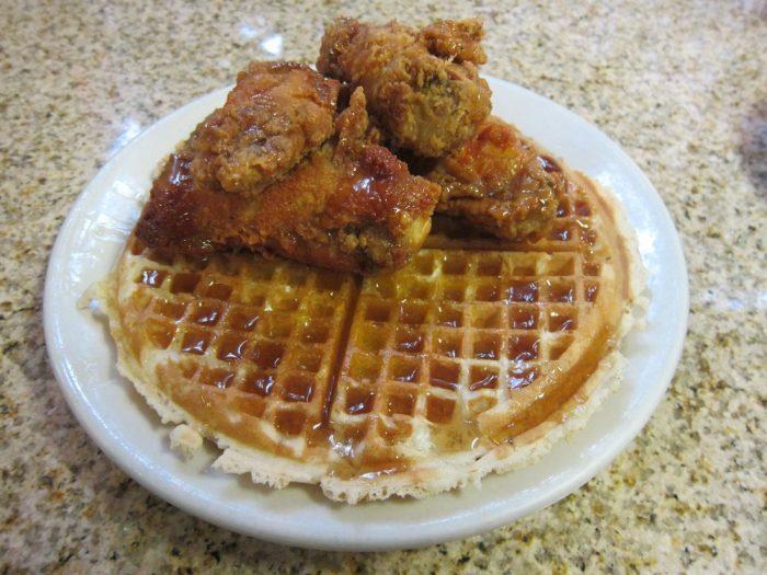 lincolns waffle food