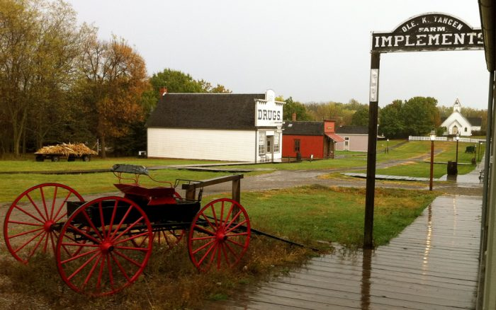 5. Learn about farm life at the Living History Farms.