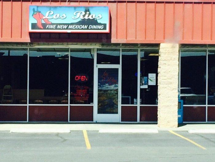 Los Rios Cafe Farmington Nm Menu