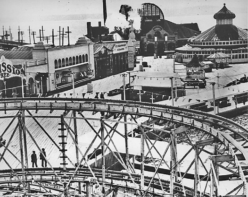The History Of Luna Park In Seattle Washington