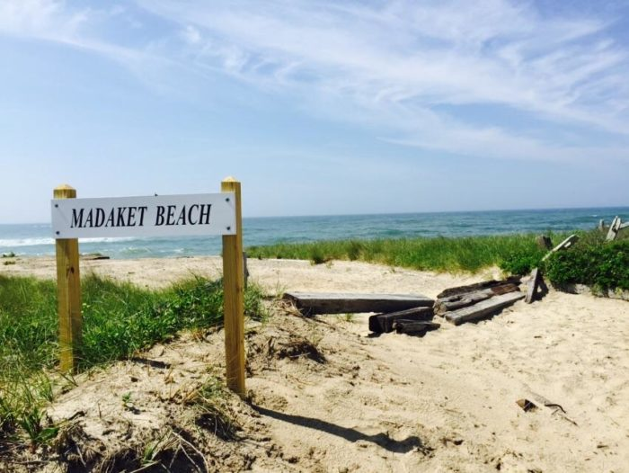 Located on the southwest point of Nantucket island, Madaket Beach is a huge swathe of sand that stretches to the horizon.