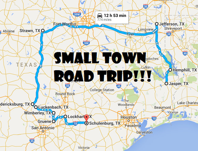 Awesome Road Trip Through Beautiful Small Towns In Texas