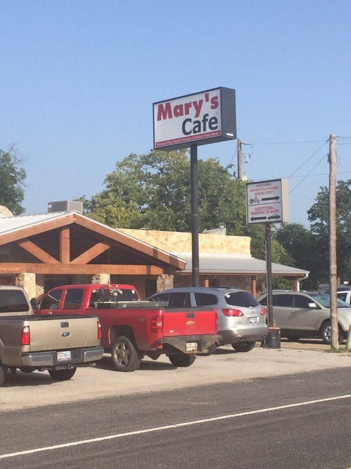 2. Mary's Cafe (Strawn)