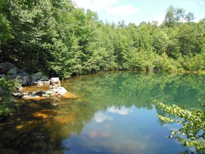 7. Emerald Pond
