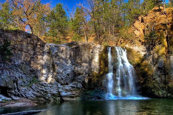 7. Ramsey Falls, Alexander Ramsey Park