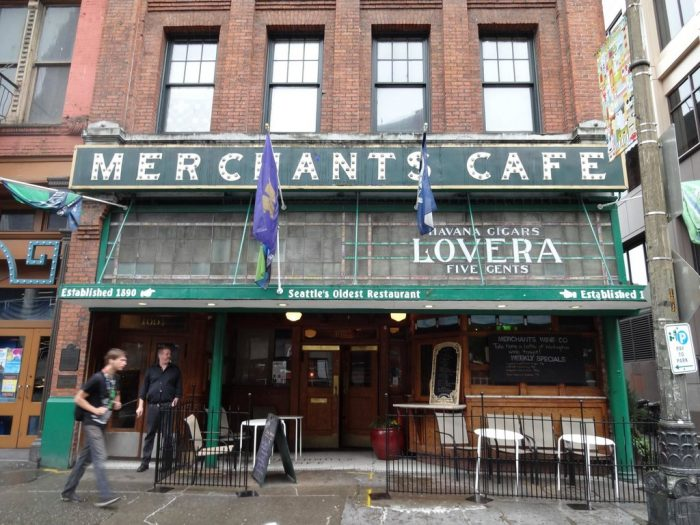 12. Merchants Cafe and Saloon, Seattle