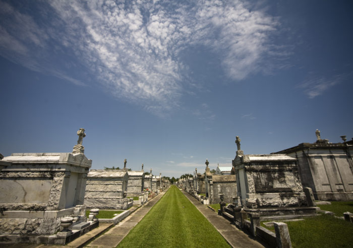 8) Metairie Cemetery, New Orleans