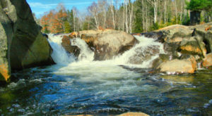 These 10 Waterfall Swimming Holes In Maine Are Perfect For A Summer Day
