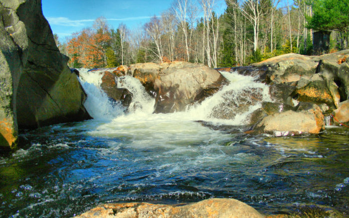 swimming maine holes waterfall pools summer perfect river these onlyinyourstate