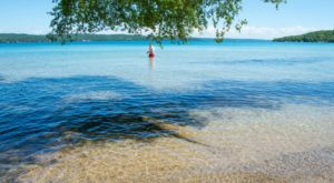 This Swimming Spot Has The Clearest, Most Pristine Water In Michigan