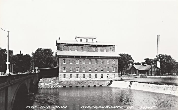 7. Wapsipinicon Feed Mill and Dam, Independence