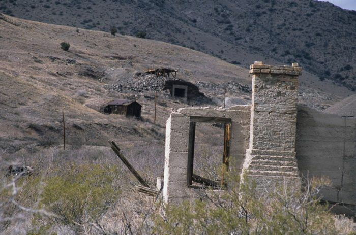 2. This mine is in the ghost town of Lake Valley in Sierra County.