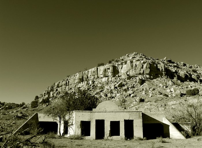 8. The mining ghost town of Hagan is northeast of Albuquerque.