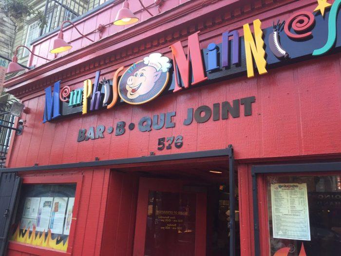 6. Memphis Minnie's: 576 Haight St.